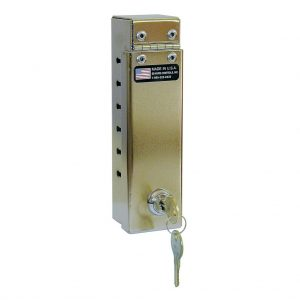 Cable Coat Lock w/Narrow Slots