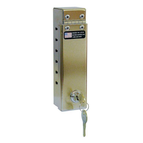 Cable Coat Lock w/Narrow Slots