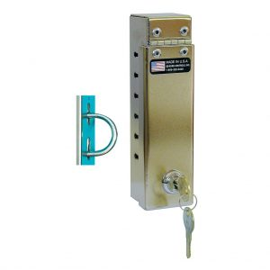 Coat Lock-narrow slot w/U-Bolt Attachment