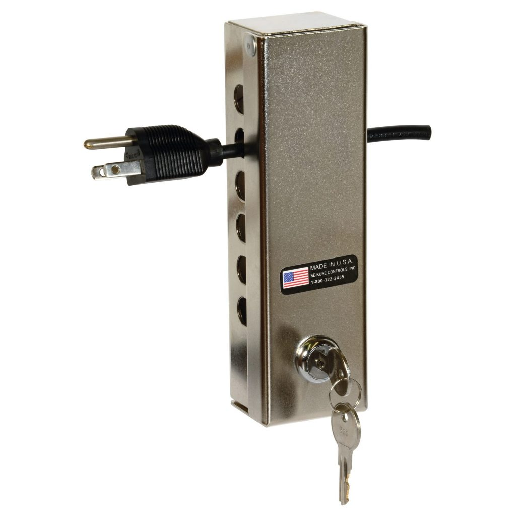 Power Cord Security Lock Box