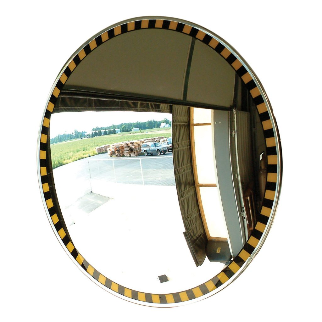 Safety Border Convex Mirrors