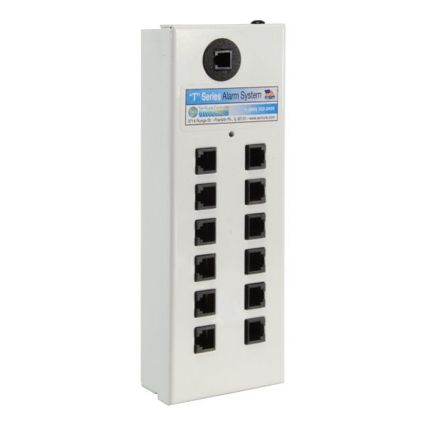 Mini 12 Port Alarm for Remote Modules, White