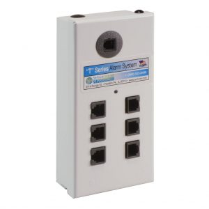Mini 6 Port Alarm for Remote Modules, White