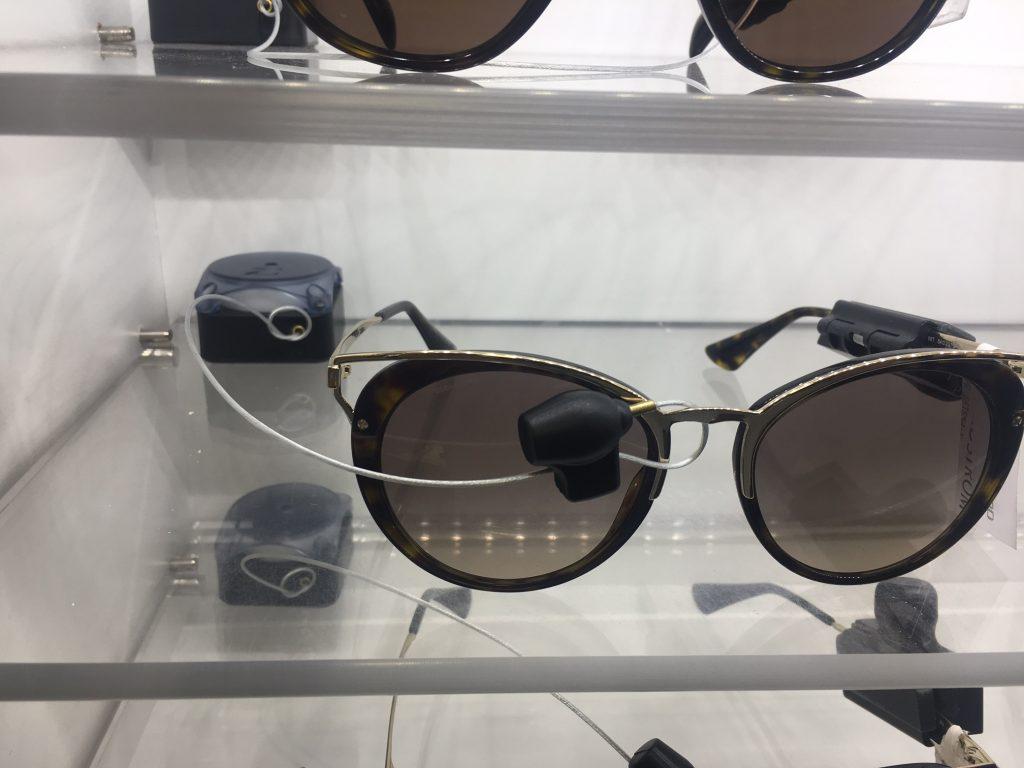 Nordstrom alarming recoiler for sunglasses